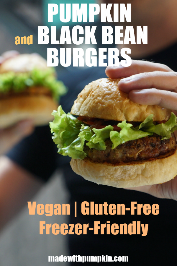Try these delicious Pumpkin And Black Bean Burgers as an alternative to meat. They are vegan and gluten free. These burgers are also freezer-friendly.